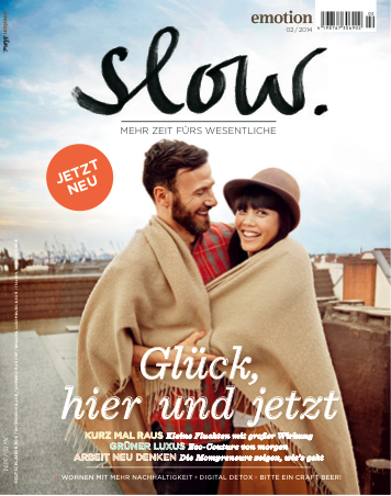 Cover EMOTION SLOW 2/2014