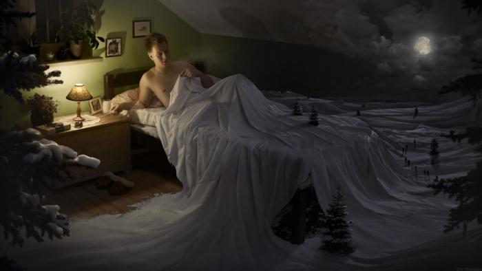 "Erik Johansson ""Snow Cover"""
