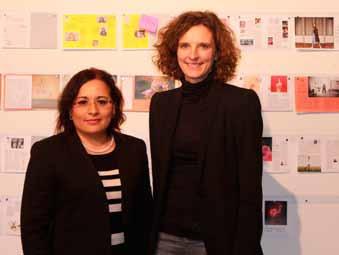 Treffen von Katarzyna und Frau Pérez