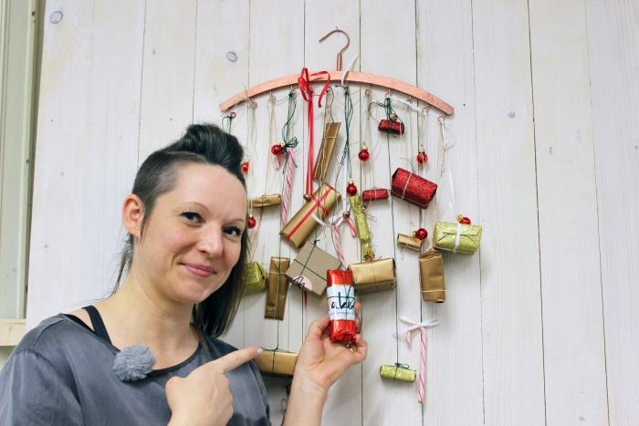 Kleiderbügel-Adventskalender von Makerist mit Designerin Swantje Wendt