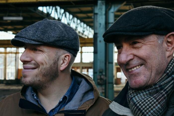 Kurzzug: Jörg Schleburg und Wolfgang Bischoff