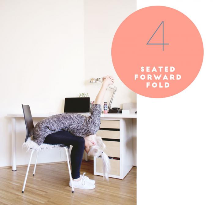 Yoga: Seated forward fold