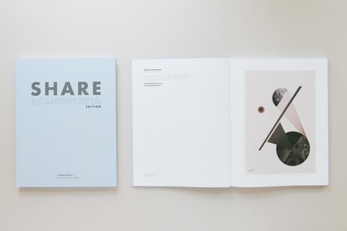 SHARE Scandinavia: Cover und Seitenansicht