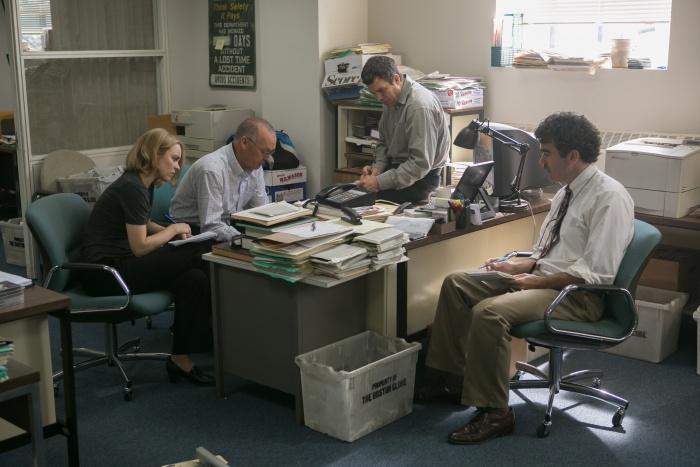Spotlight - Filmszene im Büro