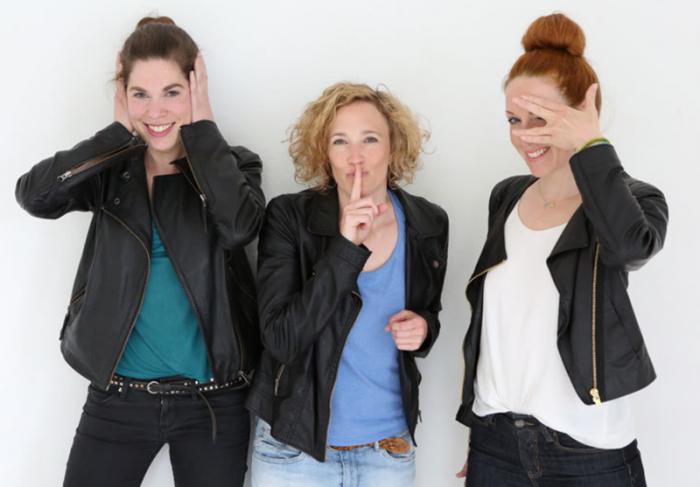 Pausenkicker: Lena Wittneben, Sina Morcinek, Katrin Wulff