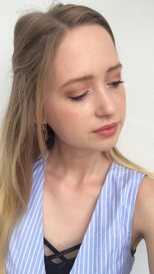 Freitags-Favorit, Too Faced Peach Palette, Selfie