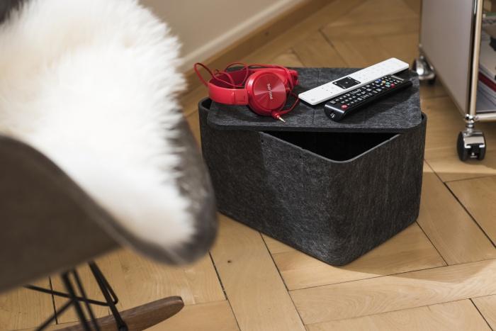 Inos Box in schwarz