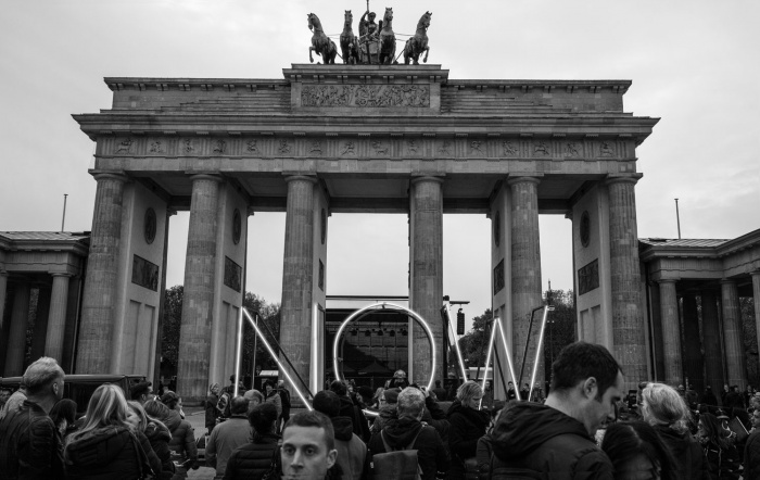 NOW Aktion in Berlin