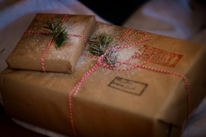 Weihnachten Pakete