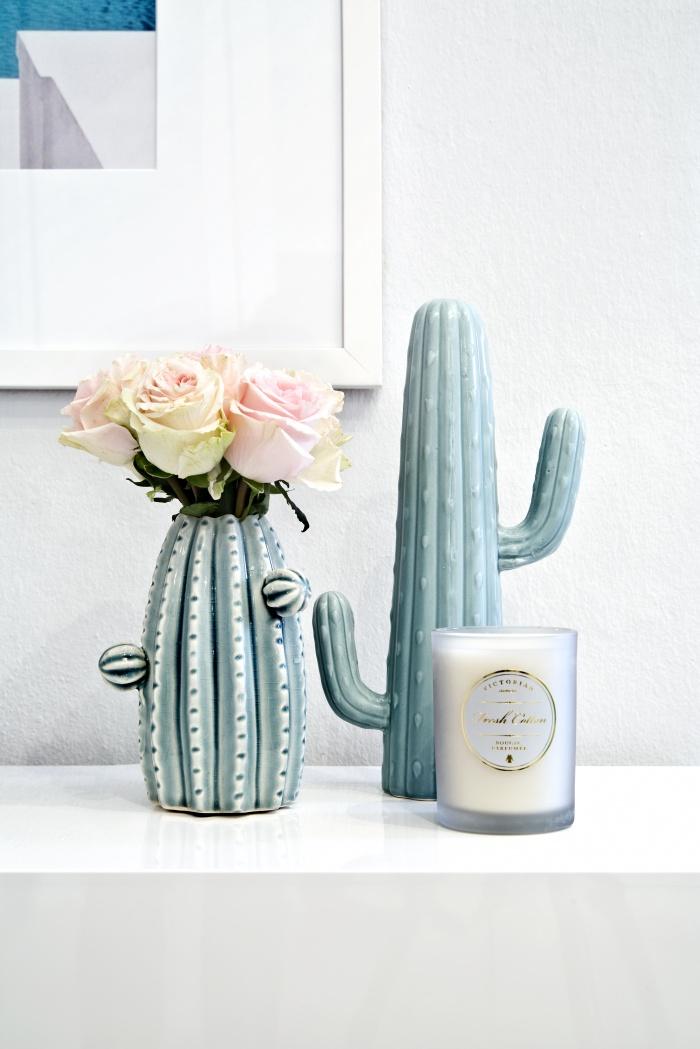 Interior Trend für den Sommer: Kakteen. Hier als Vase. Gibt's bei Westwing.