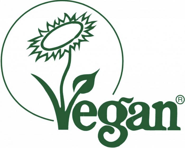 Kosmetiksiegel: Veganblume
