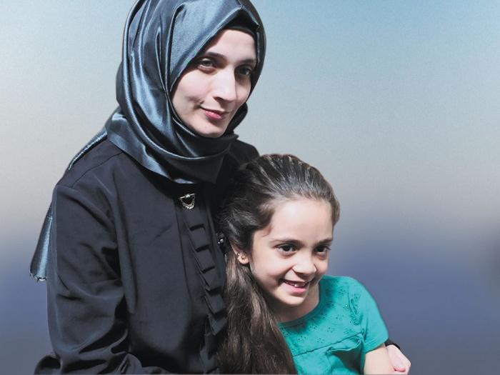 Bana und ihre Mutter