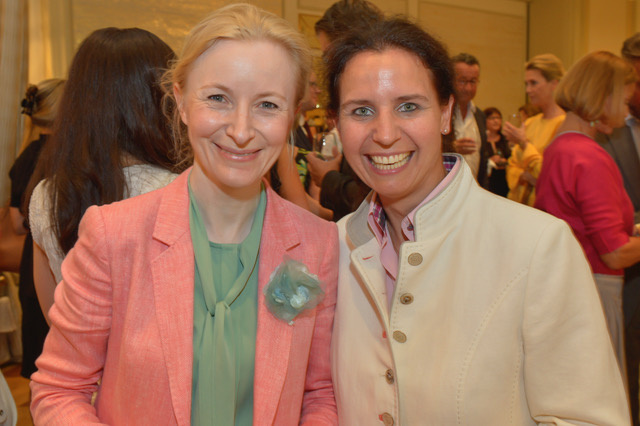 Dr. Anne Fleck und Marina Tcharnetsky