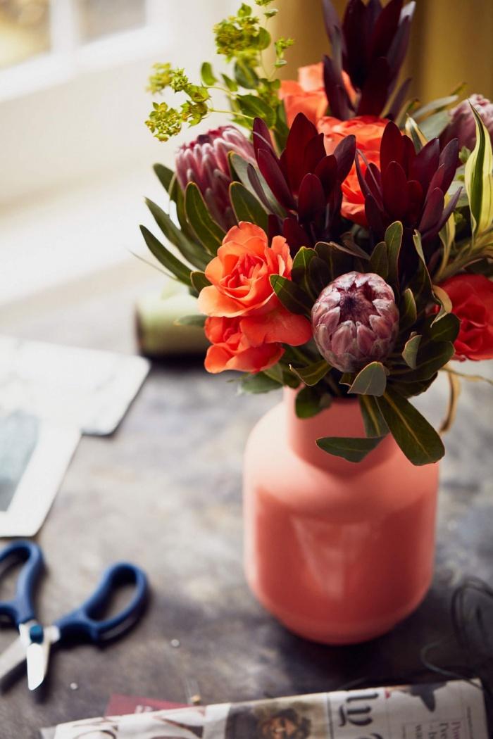 Blumenstrauß Bouquet Ruby