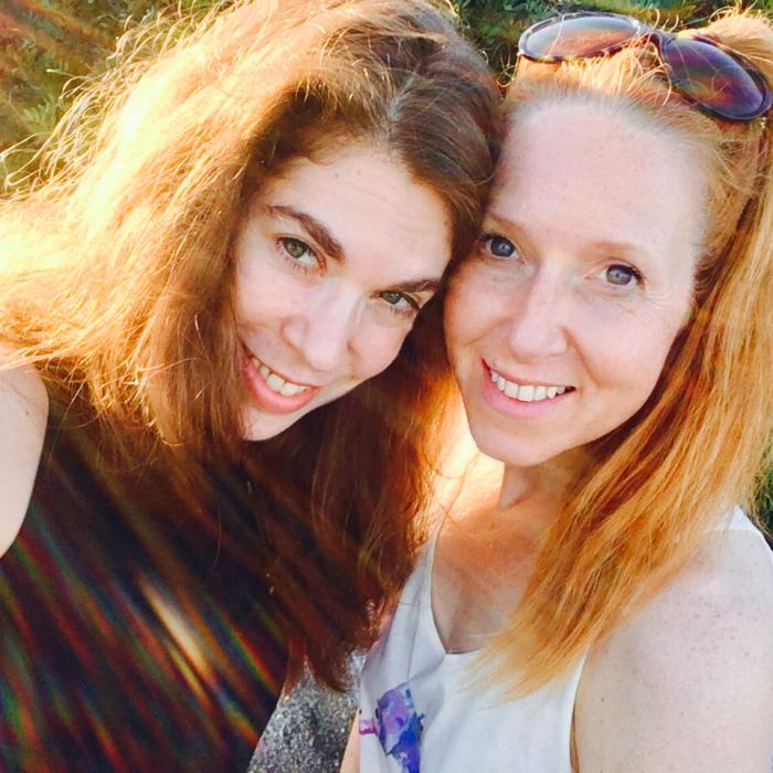 Lena und Katrin