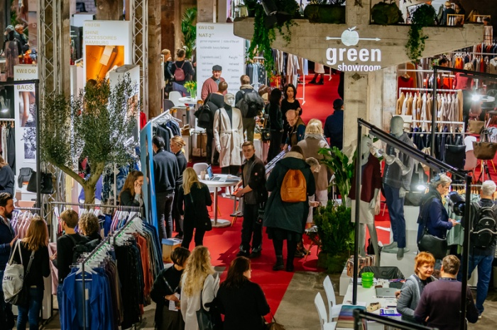 Gut besucht, der Green Showroom