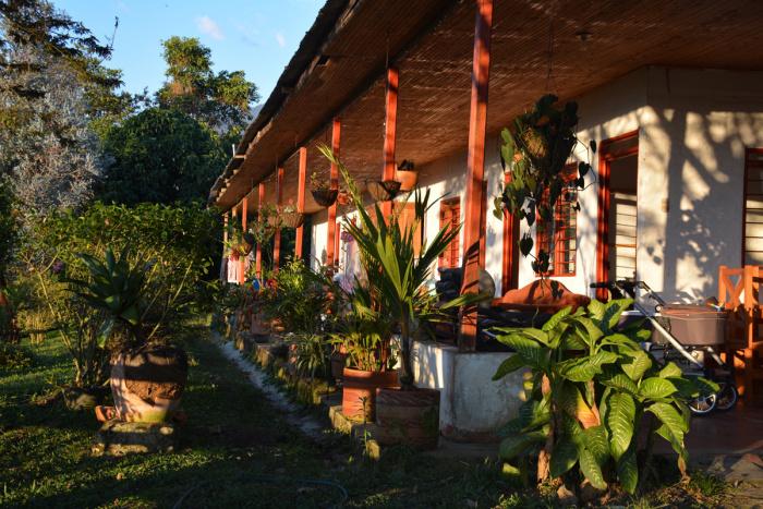 Kolumbien:Terrasse