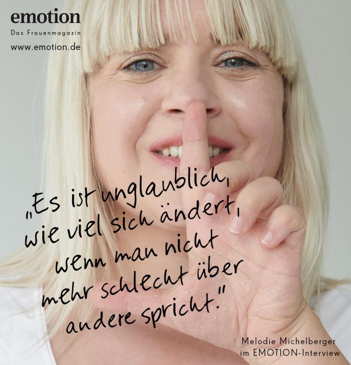 Melodie Michelberger Zitat