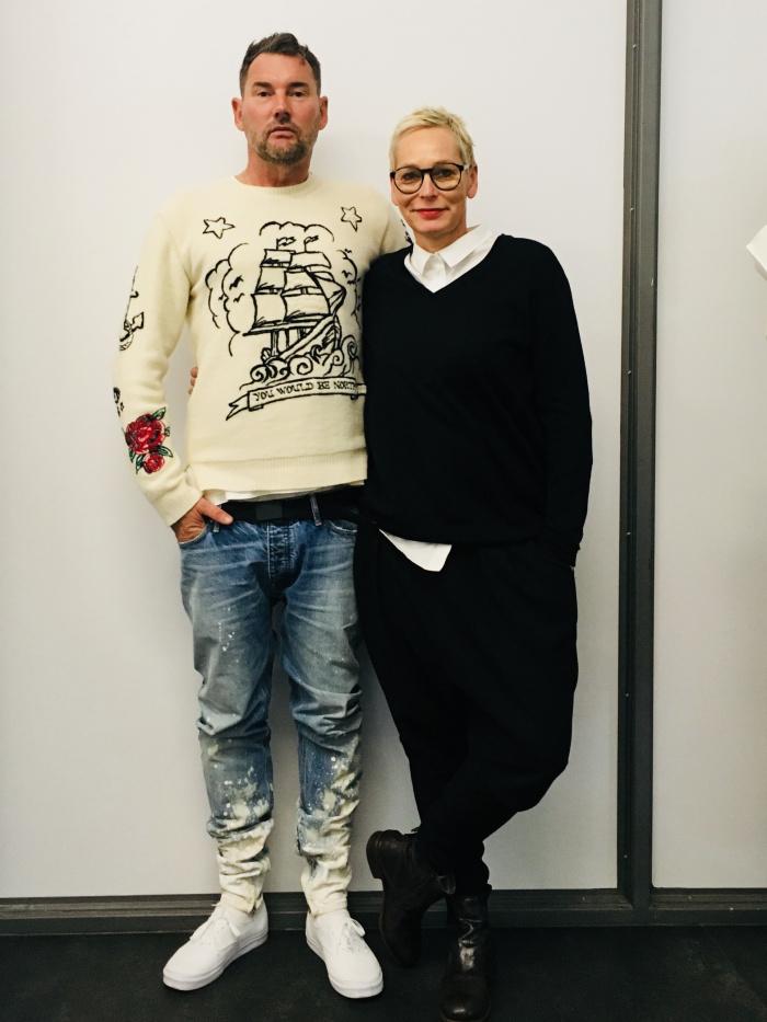 Bärbel Schäfer und Michael Michalsky