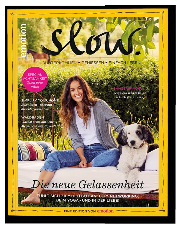 Emotion Slow Magazin Cover September 2018