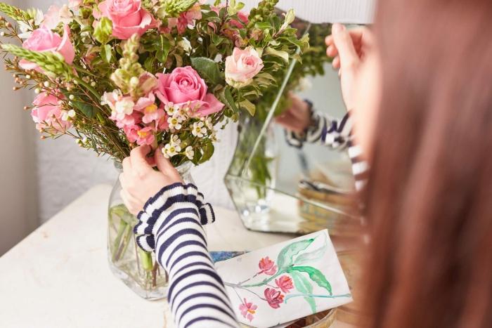 Blumenstrauß Bouquet Charlotte
