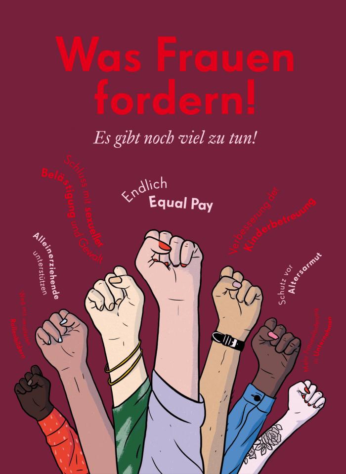Wasfrauenfordern Poster