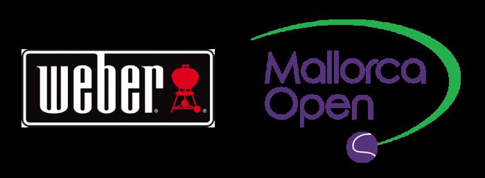 Weber und Mallorca Open Logo