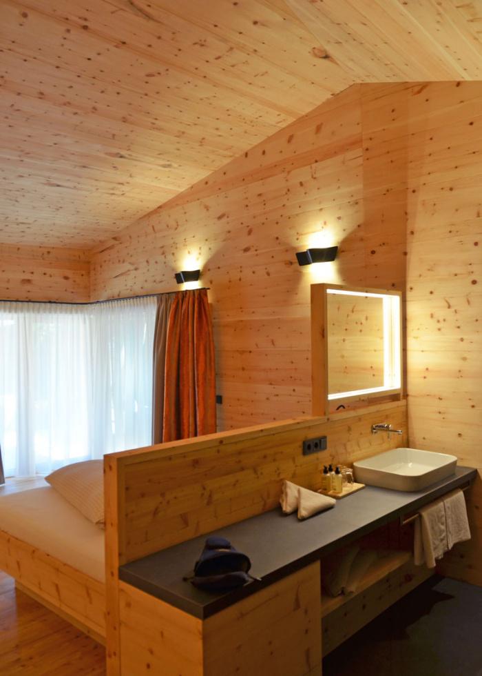 Yoga in den Bergen: Chalet in Tirol