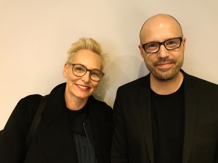 Bärbel Schäfer und Christopher Deylen