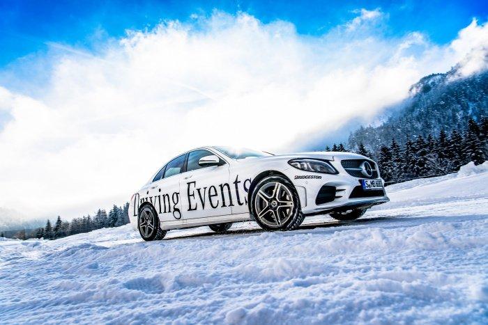 Mercedes Wintertraining