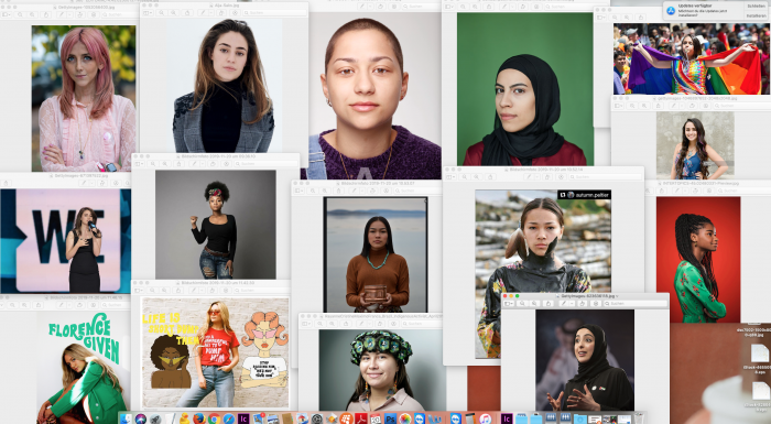 Aktivistinnen auf der ganzen Welt
