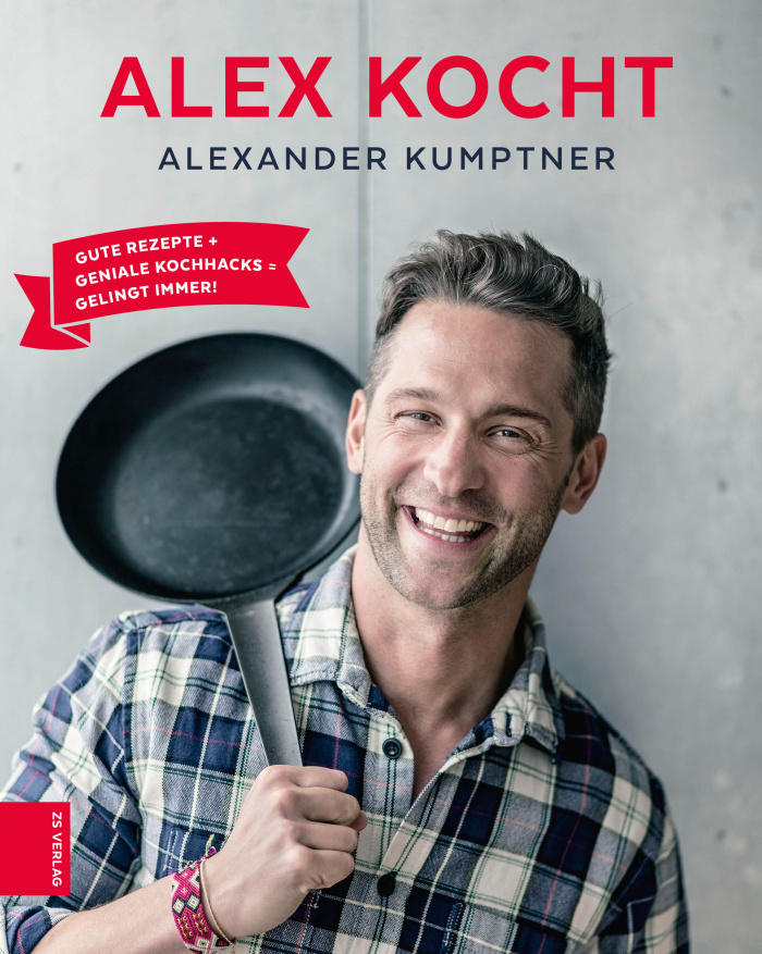 """Kochbuch """"Alex kocht"""""""