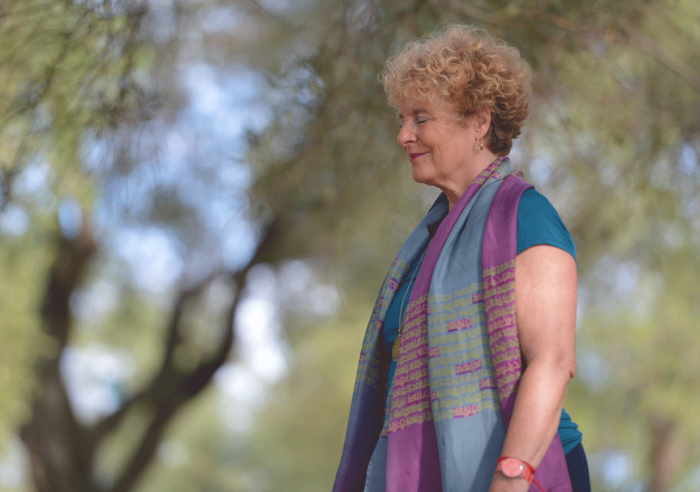 Yogalehrerin Anna Troekes