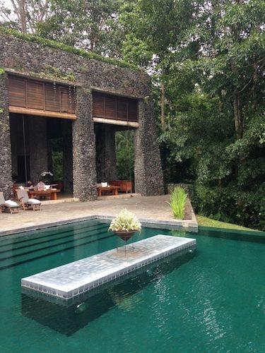 "Außenbereich Eco Luxury Resort ""Alila Ubud"""