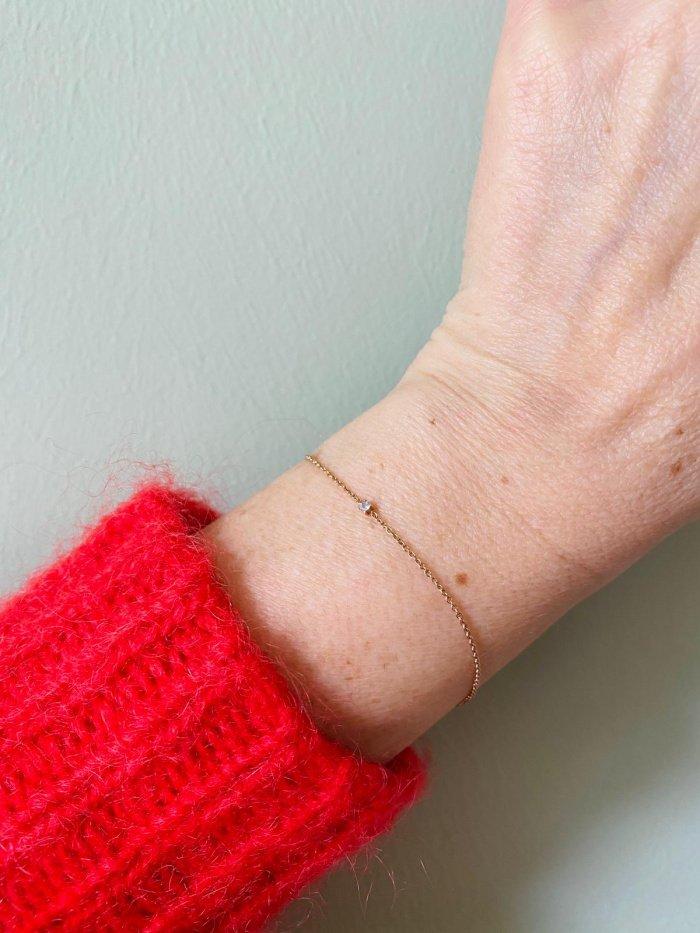 Roségold-Armband von Vieri
