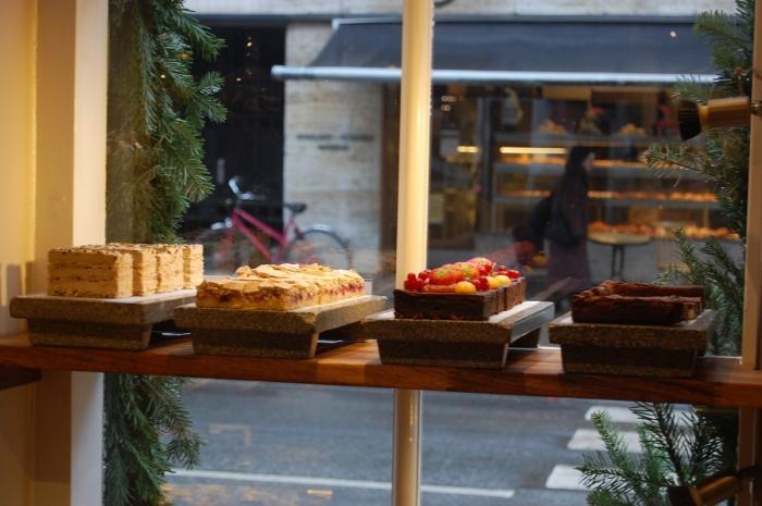 Kuchen Schaufenster Kopenhagen