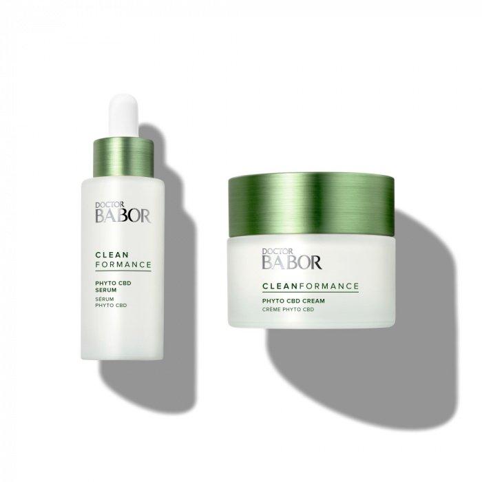 Babor Cleanformance CBD Serum Cream
