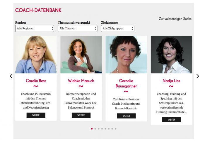 Coach-Datenbank