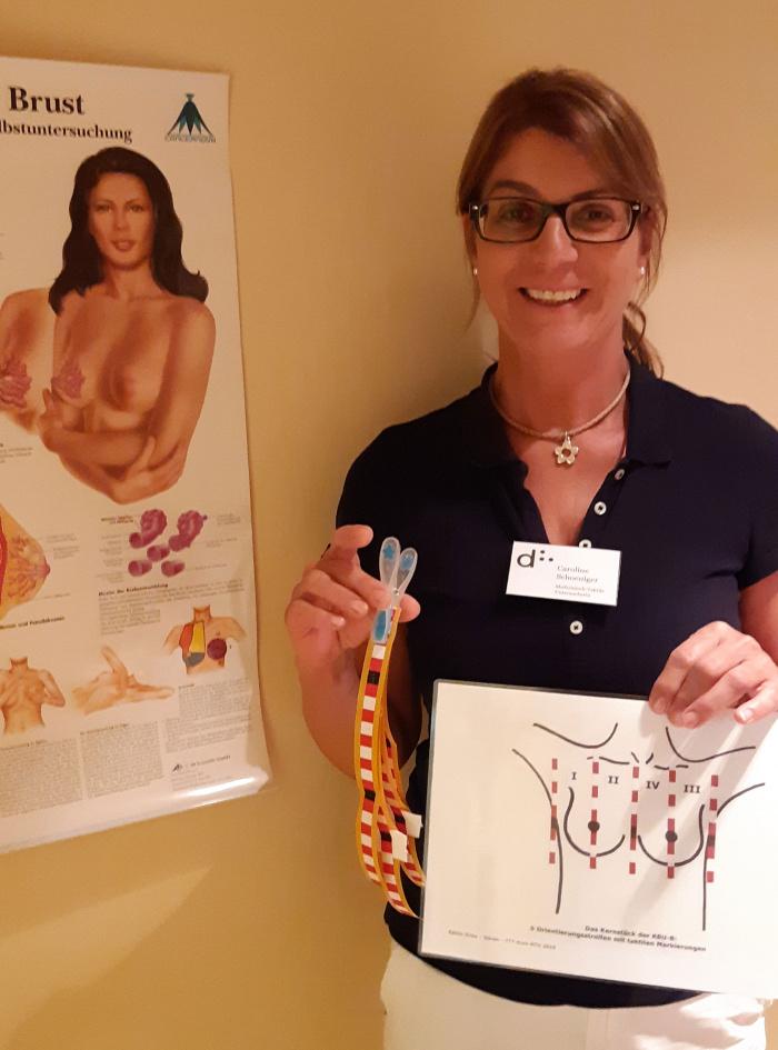 Discovering Hands: MTU Caroline tastet für die Früherkennung von Brustkrebs