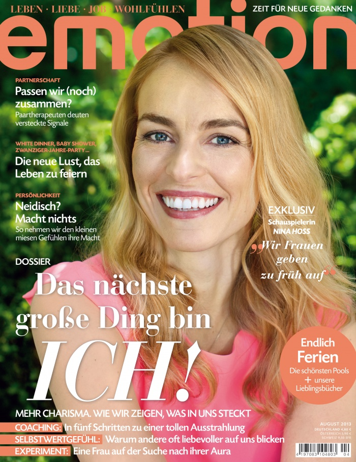 Emotion Cover 08/2013