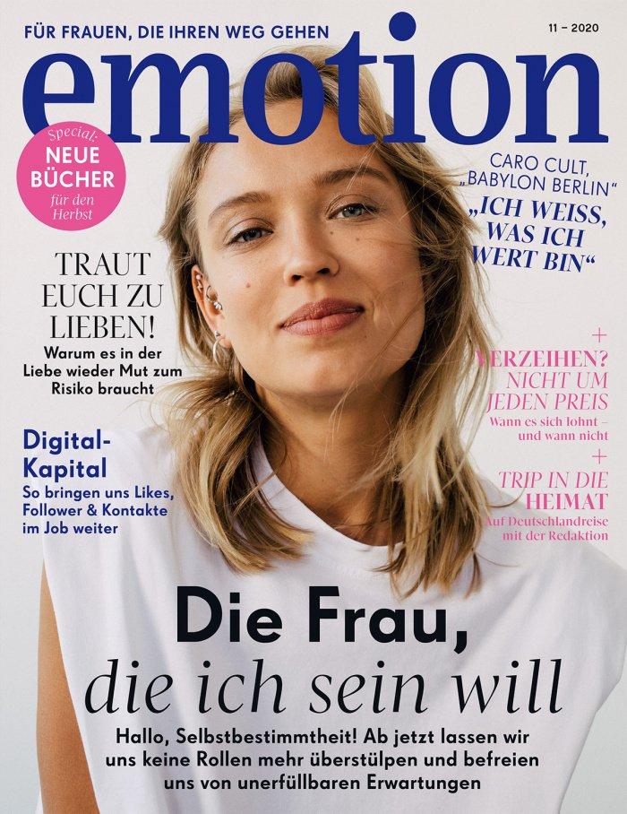 EMOTION Magazin 11-2020 Titel