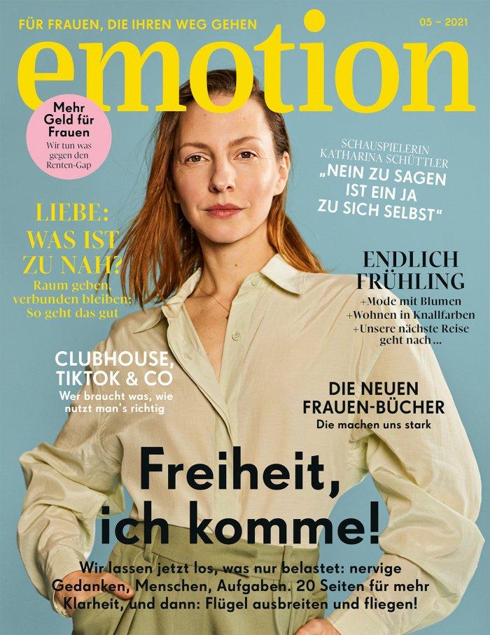 EMOTION Mai 2021 Cover