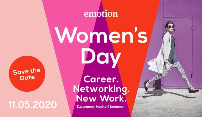 Emotion Women's Day 2020: Weiterbildung und Karriere – unser Event in Hamburg