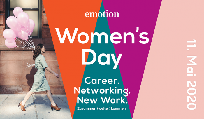 Emotion Women's Day 2020: Weiterbildung und Karriere – unser Event in Hamburg