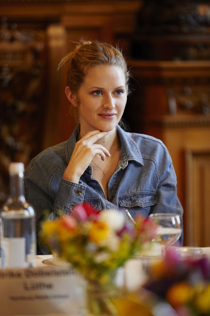 Lara Daniel: Women's Business Breakfast im Hamburger Rathaus
