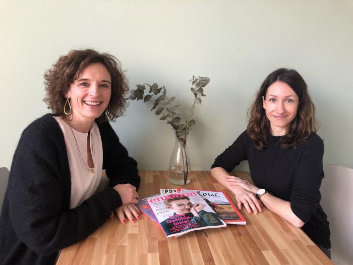 Kasia trifft Britta Moser