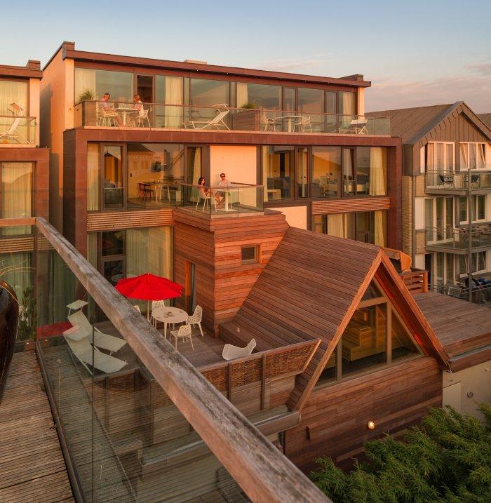 Inselloft Hotel Spa Balkone