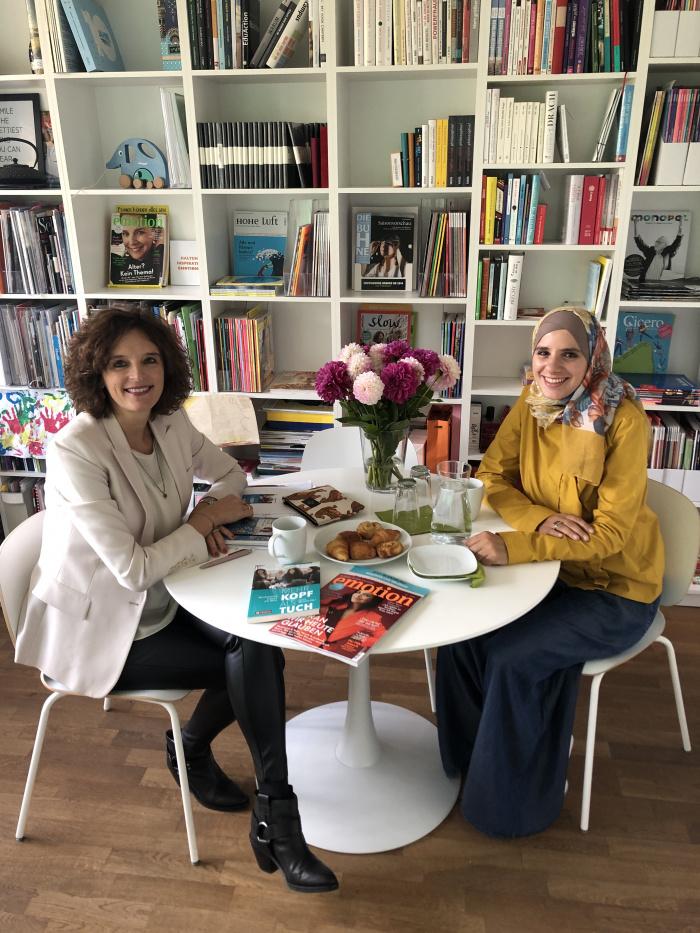 Kasia Mol-Wolf und Amani Abuzahra