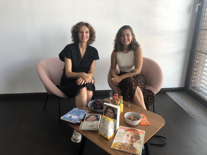 Madeleine Alizadeh und Kasia Mol-Wolf