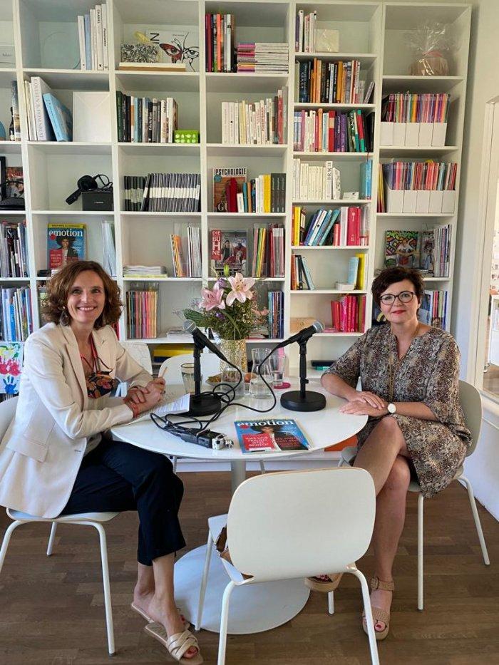 Kasia Mol-Wolf und Stefanie Diller